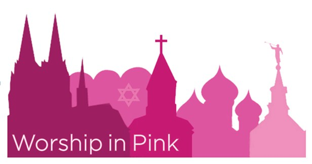 Worship in Pink Banner