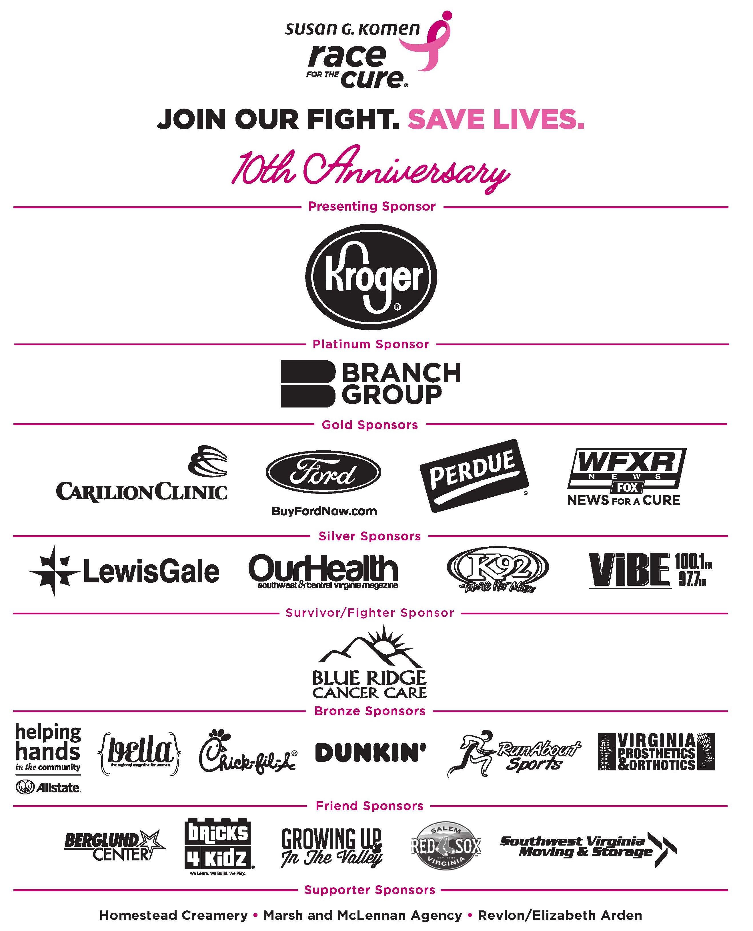 Komen 2020 Save the Date! | Susan G Komen Virginia Blue Ridge®